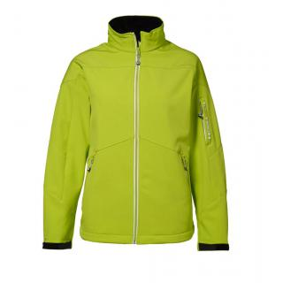 Soft Shell-Jacke | Lady Kontrast Lime S