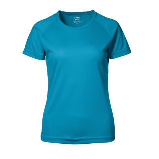 GAME Active T-Shirt | Lady Cyan L