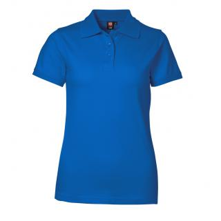 Piqué Poloshirt | Lady Stretch Azur 3XL
